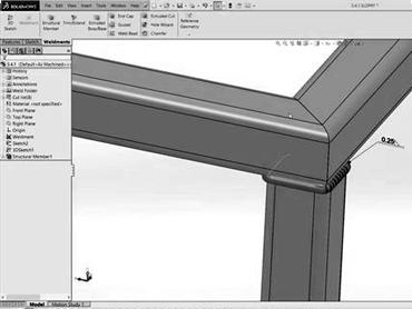 conception dessins 3d soudure